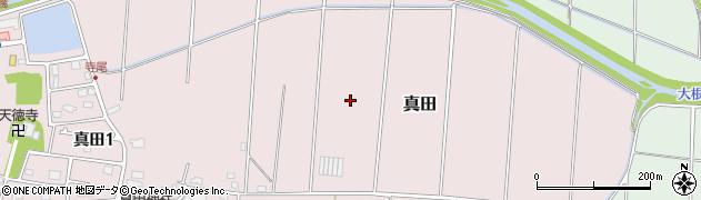 神奈川県平塚市真田周辺の地図