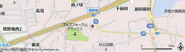 Sトール周辺の地図