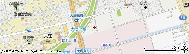 滋賀県長浜市大辰巳町49周辺の地図
