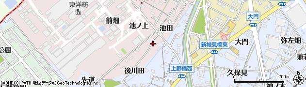 愛知県犬山市木津(池田)周辺の地図