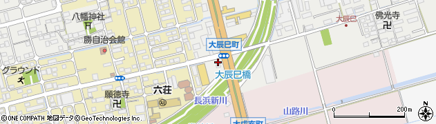 滋賀県長浜市大辰巳町42周辺の地図