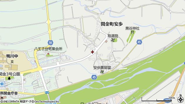〒682-0401 鳥取県倉吉市関金町安歩の地図