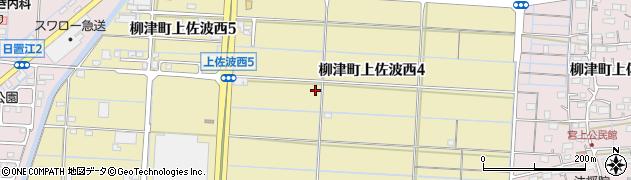 岐阜県岐阜市柳津町上佐波西周辺の地図