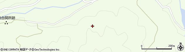 長野県阿智村(下伊那郡)浪合(上町)周辺の地図