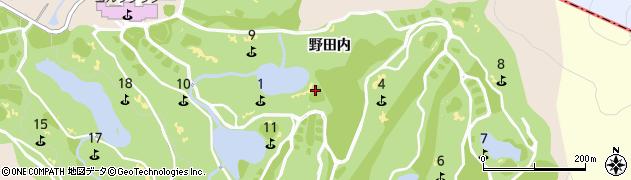 岐阜県多治見市小名田町(野田内)周辺の地図