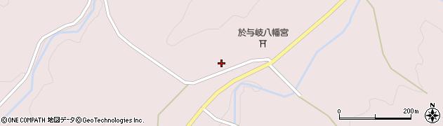 京都府綾部市於与岐町(田和)周辺の地図