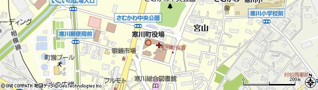 神奈川県高座郡寒川町周辺の地図
