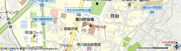 神奈川県寒川町(高座郡)周辺の地図