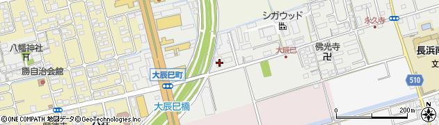 滋賀県長浜市大辰巳町93周辺の地図