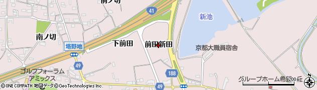 愛知県犬山市塔野地(前田新田)周辺の地図