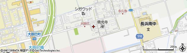 滋賀県長浜市大辰巳町129周辺の地図