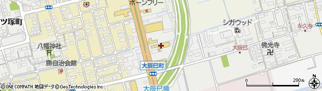 滋賀県長浜市大辰巳町17周辺の地図