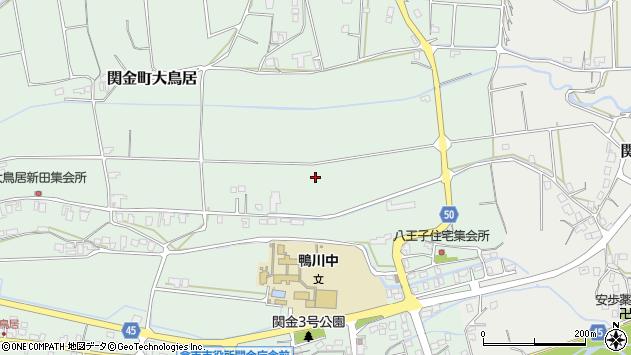 〒682-0402 鳥取県倉吉市関金町大鳥居の地図