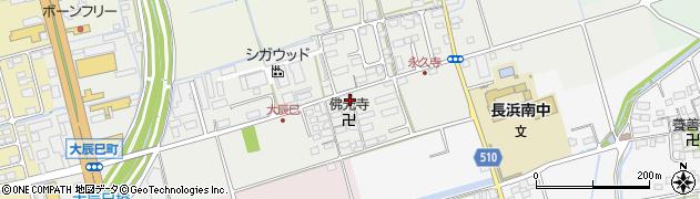滋賀県長浜市大辰巳町192周辺の地図