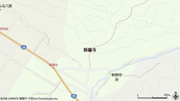 〒680-0522 鳥取県八頭郡八頭町新興寺の地図