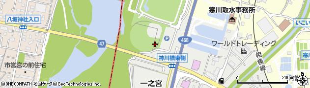 神奈川県寒川町(高座郡)一之宮周辺の地図