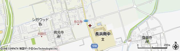 滋賀県長浜市大辰巳町225周辺の地図