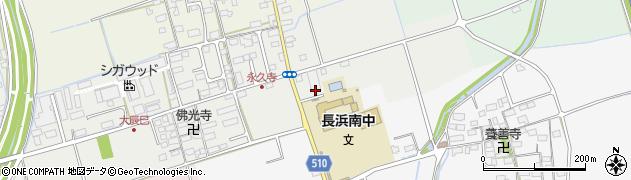 滋賀県長浜市大辰巳町226周辺の地図