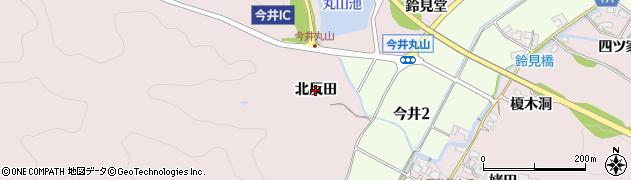 愛知県犬山市今井(北反田)周辺の地図
