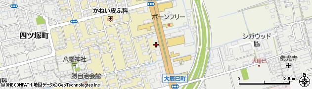滋賀県長浜市大辰巳町3周辺の地図
