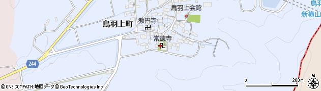 滋賀県長浜市鳥羽上町周辺の地図