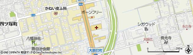滋賀県長浜市大辰巳町12周辺の地図
