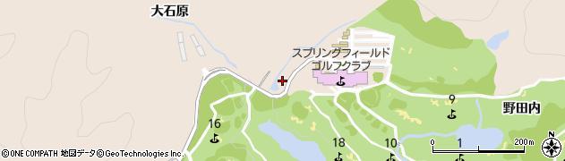 岐阜県多治見市小名田町(別山)周辺の地図