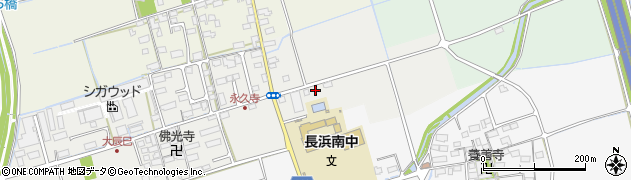 滋賀県長浜市大辰巳町228周辺の地図