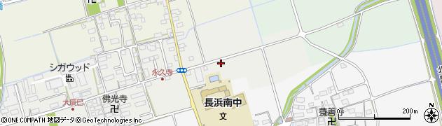 滋賀県長浜市大辰巳町229周辺の地図