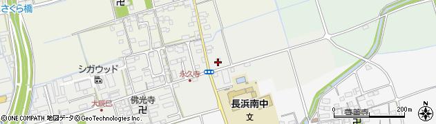 滋賀県長浜市大辰巳町278周辺の地図