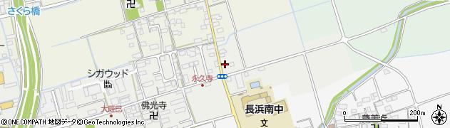 滋賀県長浜市大辰巳町279周辺の地図