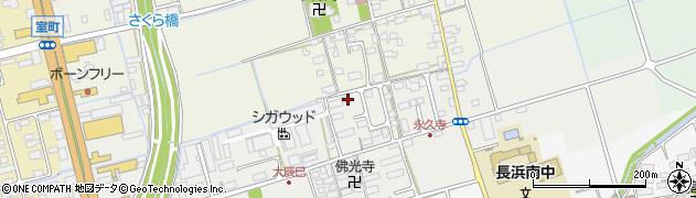 滋賀県長浜市大辰巳町163周辺の地図