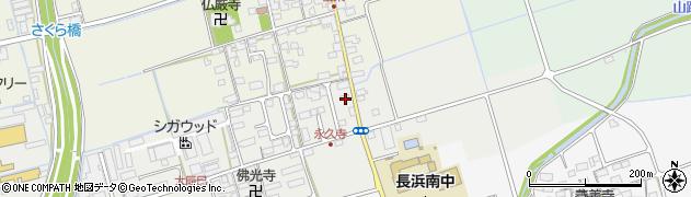 滋賀県長浜市大辰巳町285周辺の地図