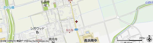 滋賀県長浜市大辰巳町181周辺の地図