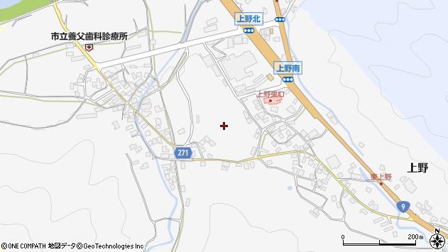 〒667-0131 兵庫県養父市上野の地図