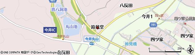愛知県犬山市今井(鈴見堂)周辺の地図