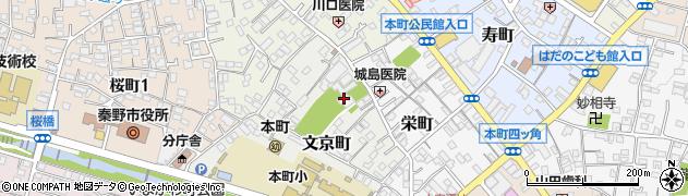 天徳寺周辺の地図
