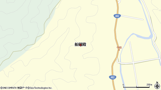 〒680-0411 鳥取県八頭郡八頭町船岡殿の地図