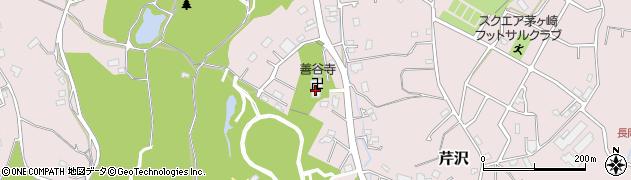 善谷寺周辺の地図