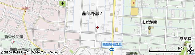 岐阜県岐阜市茜部野瀬周辺の地図