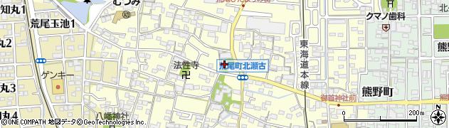 善楽寺周辺の地図