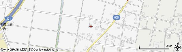 神奈川県平塚市小鍋島周辺の地図