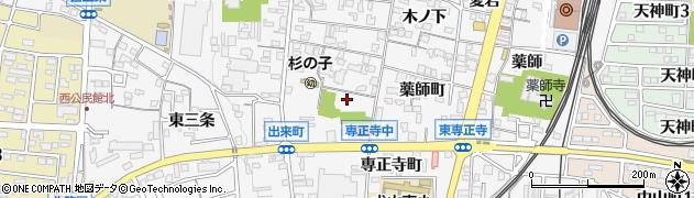 愛知県犬山市犬山(南古券)周辺の地図