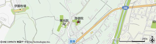 浄徳院周辺の地図