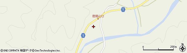京都府綾部市睦寄町(岼ノ下)周辺の地図
