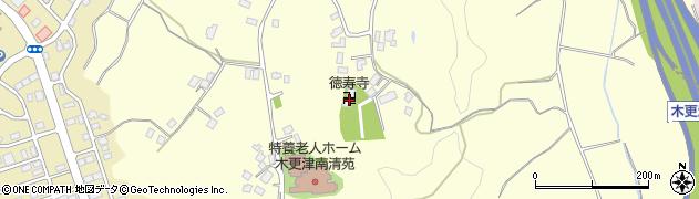 徳寿寺周辺の地図