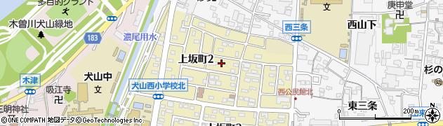 愛知県犬山市犬山(東庵ノ尻)周辺の地図