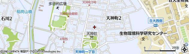 神奈川県藤沢市天神町周辺の地図