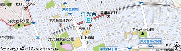 神奈川県横浜市磯子区洋光台周辺の地図