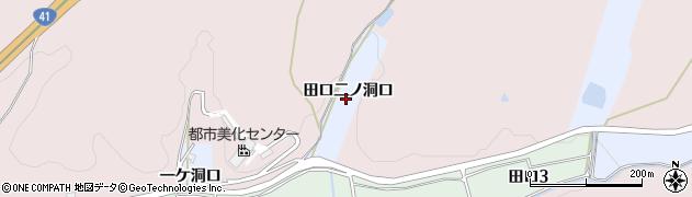 愛知県犬山市善師野(田口二ノ洞口)周辺の地図